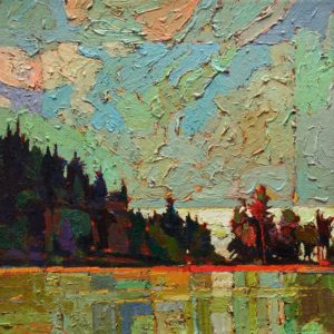 SOLD No. 1091 by Bob Kebic 10 x 10 - oil $730 Unframed $950 in show frame