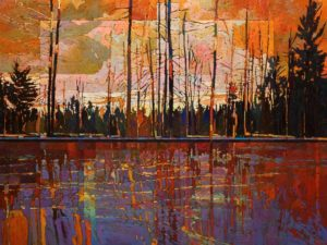 SOLD No. 1097 by Bob Kebic 30 x 40 - oil $3200 Unframed