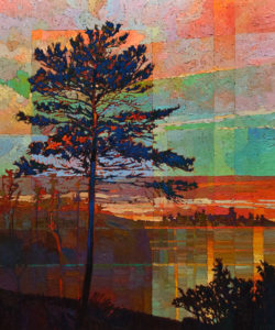 SOLD No. 1098 by Bob Kebic 30 x 36 - oil $2930 Unframed