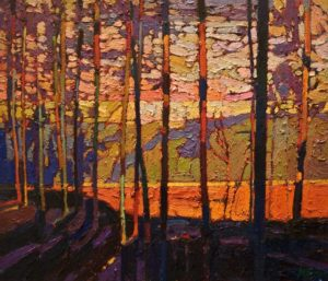 SOLD No. 2000 by Bob Kebic 12 x 14 - oil $970 Unframed $1230 in show frame