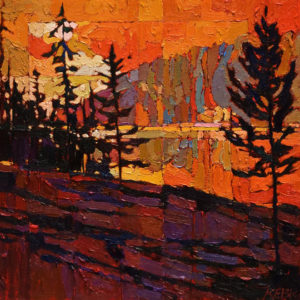 SOLD No. 1009 by Bob Kebic 12 x 12 - oil $880 Unframed