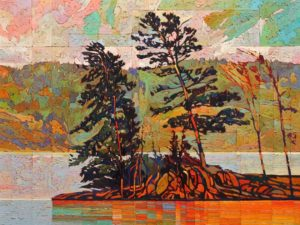 SOLD No. 2007 by Bob Kebic 30 x 40 - oil $4200 Unframed