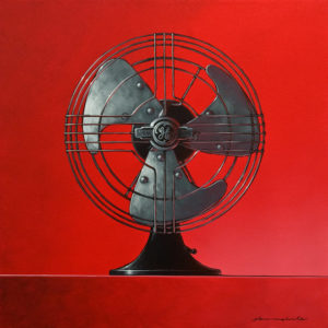 """SOLD """"You Blow Me Away!"""" by Glen Melville 24 x 24 - oil and acrylic $1800 (thick canvas wrap)"""