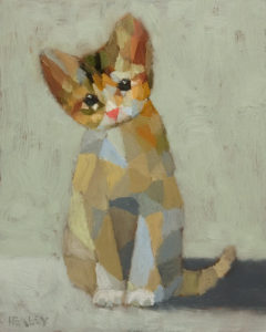 "SOLD ""Charlie,"" by Paul Healey 8 x 10 - oil $450 Unframed"