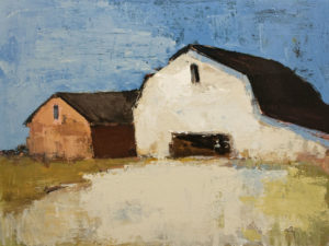 """""""Toujours Debout"""" (Still Standing) by Robert P. Roy 30 x 40 – acrylic $2650 Unframed"""