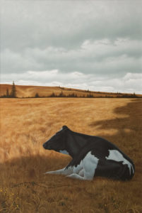 """Siesta,"" by Christopher Walker 20 x 30 - acrylic $6800 Unframed"