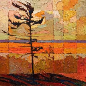 SOLD No. 2085 by Bob Kebic 10 x 10 - oil $730 Unframed