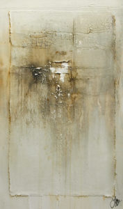 "SOLD ""Deliciously Quiet,"" by Laura Harris 20 x 34 - acrylic $2800 (thick canvas wrap)"