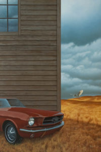 """Vintage,"" by Christopher Walker 24 x 36 - acrylic $8700 Unframed"