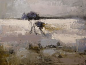 """""""Chemin Perdu No. 2,"""" (Lost Road No. 2) by Robert P. Roy 30 x 40 - acrylic $2650 (thick canvas wrap)"""