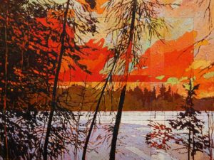SOLD No. 2117 by Bob Kebic 30 x 40 - oil $4200 Unframed