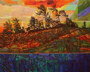 SOLD No. 2119 by Bob Kebic 48 x 60 - oil $9800 Unframed