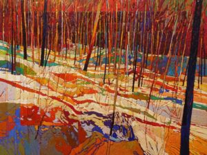 SOLD No. 2125, by Bob Kebic 30 x 40 - oil $4200 Unframed