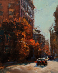 """SOLD """"Midday Sun,"""" by William Liao 16 x 20 - oil $1235 Unframed"""