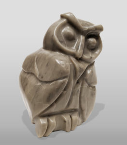 """""""Just Waking,"""" by Marilyn Armitage 8"""" (H) - pyrophyllite $825"""
