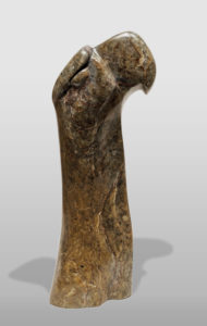 """""""Popping Up,"""" by Marilyn Armitage 10 1/2"""" (H) - soapstone $350"""