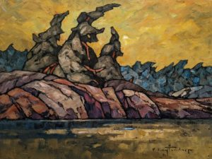 """""""Canadian Breeze,"""" by Phil Buytendorp 12 x 16 - oil $1210 Unframed"""