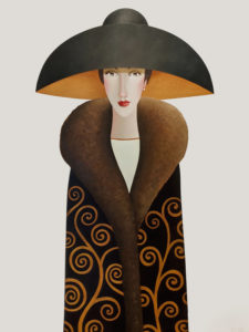 """Camille,"" by Danny McBride 36 x 48 - acrylic $5700 (thick canvas wrap)"