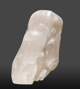 """""""Tundra Calling,"""" by Marilyn Armitage 9"""" (H) - translucent alabaster $850"""