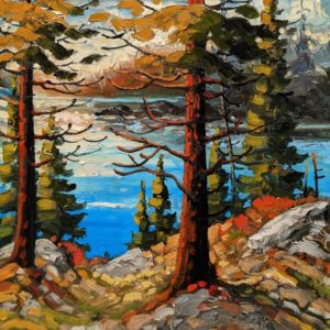 """SOLD """"West Coast Latelight,"""" by Rod Charlesworth 12 x 12 - oil $1200 Unframed"""