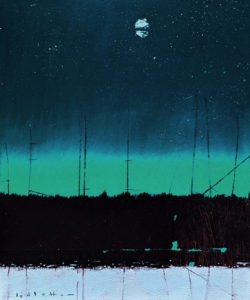 """""""After Midnight,"""" by David Lidbetter 10 x 12 - oil $1000 Unframed"""
