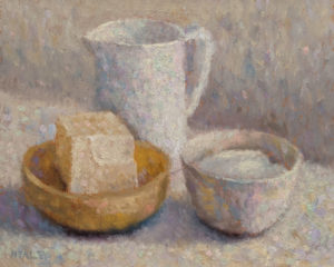 "SOLD ""Butter and Sugar,"" by Paul Healey 8 x 10 - oil $450 Unframed"