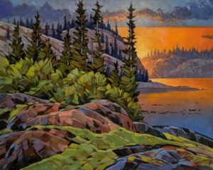 """""""As Morning Comes,"""" by Graeme Shaw 24 x 30 - oil $2435 Unframed"""