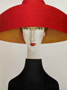 """SOLD """"Brooklyn,"""" by Danny McBride 30 x 40 - acrylic $4100 (thick canvas wrap)"""