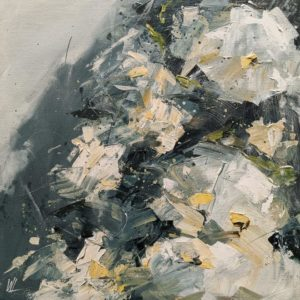 """""""Eden 15,"""" by William Liao 12 x 12 - acrylic $635 (thick canvas wrap)"""